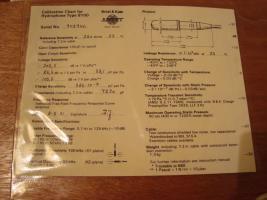 Foto 6 Hydrophone ''Brüel & Kjaer 8100'' - voll funktionsfähig
