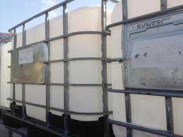 IBC Container 1000l gespühlt Wassertank Regenwasser - Behälter