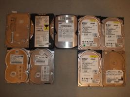 IDE Festplatten 20,40,80 GB