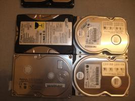 Foto 2 IDE Festplatten 20,40,80 GB