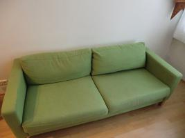 ikea couch gr n in salzburg von privat sofa couch. Black Bedroom Furniture Sets. Home Design Ideas