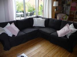 IKEA Ektorp Ecksofa mit 4 Bezügen