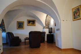 Foto 2 IM129 San Bartolomeo al Mare 4-Zimmerwohnung mit Terrassengarten und tollem Panoramablick
