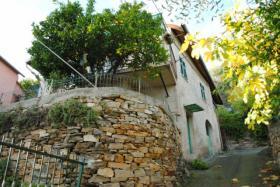 IM131 Diano Marina Freihstehendes Haus mit Garten, Terrasse, Carport und tollem Meerblick