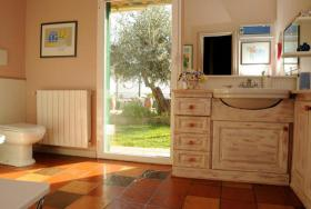 Foto 5 IM134 Imperia Porto Maurizio  Traumvilla mit Garten und Pool mit tollem Meerblick