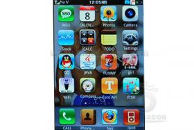 Foto 3 IPHONE CLONE 3GS-3 2G WIFI Kompass Schwarz