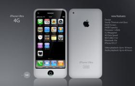 IPhone 4G in Weiß oder EdHardy Design