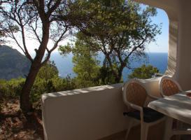 Foto 2 Ibiza Chalet in traumhafter Lage mit herrlichem Panoramablick auf  das Meer und die Küste