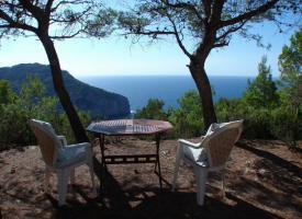 Foto 3 Ibiza Chalet in traumhafter Lage mit herrlichem Panoramablick auf  das Meer und die Küste