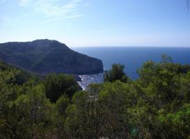 Foto 4 Ibiza Chalet in traumhafter Lage mit herrlichem Panoramablick auf  das Meer und die Küste