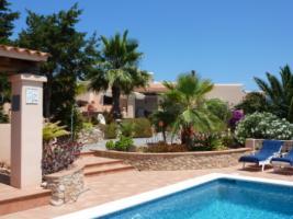 Ibiza Ferienhaus  Spanien Balearen mit Pool