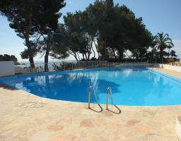 Foto 2 Ibiza: Sehr schönes Apartment in erster Linie am Meer, in der Region von Santa Eulalia (Distanz zur Innenstadt ca. 5 Minuten zu Fuß)