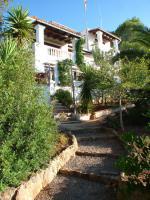 Ibiza Villa in der Region von San Carlos mit Panoramablick auf die Küste und das umliegende Land