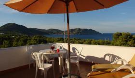 Foto 5 Ibiza Villa in der Region von San Carlos mit Panoramablick auf die Küste und das umliegende Land