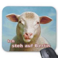 Ich steh auf Berlin - Mousepad