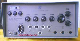 Ich suche schaldbild von Mischpultverstärker KR 61.