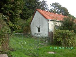 Idyllisches Gartenhaus Wochenendhaus Ferienhaus in Podewall