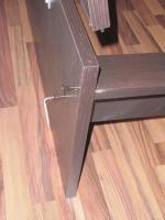 Foto 10 Ikea-Bett Malm,  (1,60 x 2,00)m, braun mit allem drum und dran