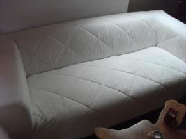 Foto 2 Ikea Couch 2-er, weiß o. schwarz, fast neu, nicht ben.