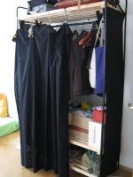 Ikea-Kleideraufbewahrungssystem