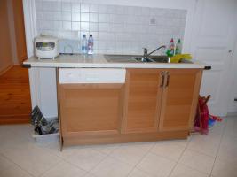 Foto 3 Ikea-Küche (incl. Spülmaschine, Elektro-Herd und Spüle)