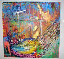 ''Illusion''---Acryl Leinwand- Unikat