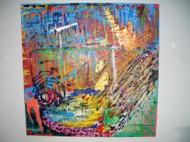 Foto 2 ''Illusion''---Acryl Leinwand- Unikat