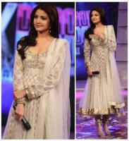Indien Bollywood Anushka Sharma Anarkali salwarkameez Handarbeit
