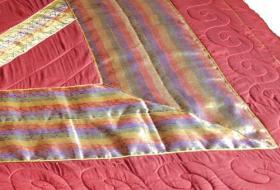 Foto 2 Indische Tagesdecken, Bettüberwürfe, Plaid, Schlafdecke, Plaid, Sofaüberwurfe