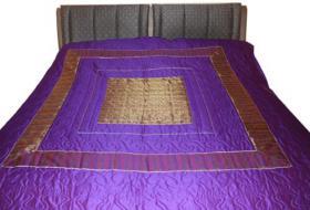 Foto 6 Indische Tagesdecken, Bettüberwürfe, Plaid, Schlafdecke, Plaid, Sofaüberwurfe