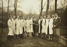 Foto, Kothe, Bremen 1934/35, 5. v.r.