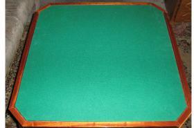 Foto 6 Intarsientisch mit mehreren Tischplatten (Abholpreis)