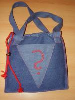 Interessante und modische Liasta    -  Shopping-Bag:  ''Blauer Oktober''