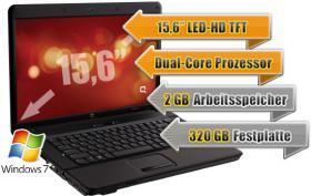 Internet Flatrate Vertrag: Günstiger Laptop mit Vertrag Notebook HP 615 + USB-Stick, Flat Internet mit Vertrag ab NUR 0, - Euro!