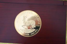 Foto 3 Investment Coin Set 2010 mit Silber, Gold, Diamanten