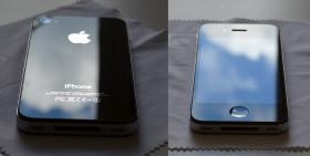 Iphone 4 (16GB) schwarz simlockfrei mit Zubehör
