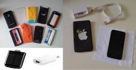 Foto 2 Iphone 4 (16GB) schwarz simlockfrei mit Zubehör