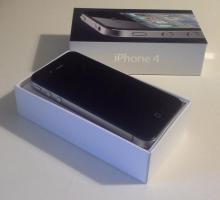 Foto 4 Iphone 4 (16GB) schwarz simlockfrei mit Zubehör