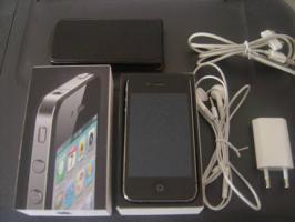 Iphone 4 16gb schwarz NEUWERTIG!! (simlockfrei+OVP+Zubehör)!!!
