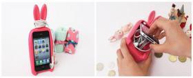 Foto 3 Iphone 4/4s/5 Korea Rabito 3D Rabbit Schutzhülle