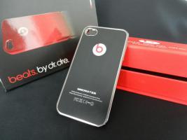 Iphone 4 Etui Beats Dr. Dre Schwarz Monster Schützhülle Case