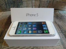 Iphone 5 32gb nagelneu sim-lock frei in weis