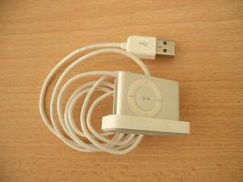 Ipod shuffle silber 1 GB