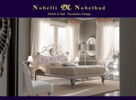 Maia Luxus Italien Designer Bett Modern Klassik