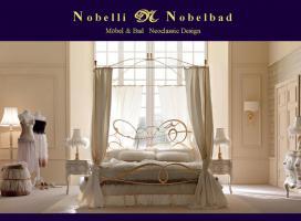 Geremia Luxus Himmelbett Italien Klassik Modern