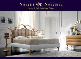Butterfly Oro Luxus Italien Doppelbett Italien Klassik