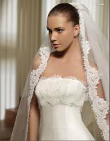 Italienisches Promesa A Linie Brautkleid Hochzeitskleid in Gr.34-58