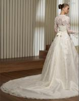 Foto 2 Italienisches Promesa A Linie Brautkleid Hochzeitskleid in Gr.34-58