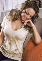 Italienisches elegantes Batik-Print-Shirt ANNA RE' V-ShirtGr.36, S NEU
