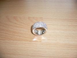 JOOP  Damen  Ring  925  Silber  Zirkonstein